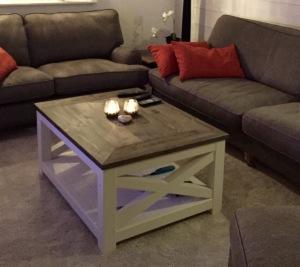 Rumsbord i New England stil